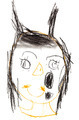 child's drawing - imp girl - PhotoDune Item for Sale