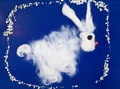 child's drawing - fluffy bunny - PhotoDune Item for Sale