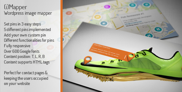 CodeCanyon iMapper Wordpress Image Mapper Pinner 4719958