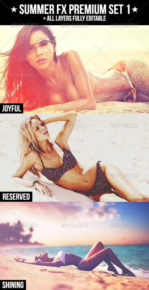 GraphicRiver Summer FX Premium Set 1 4720022