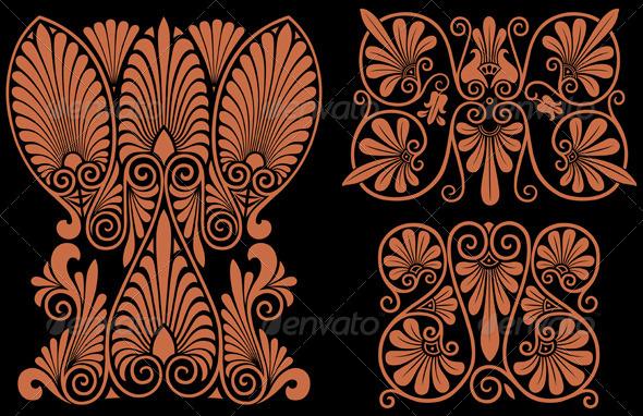 GraphicRiver Greek Patterns 4720297