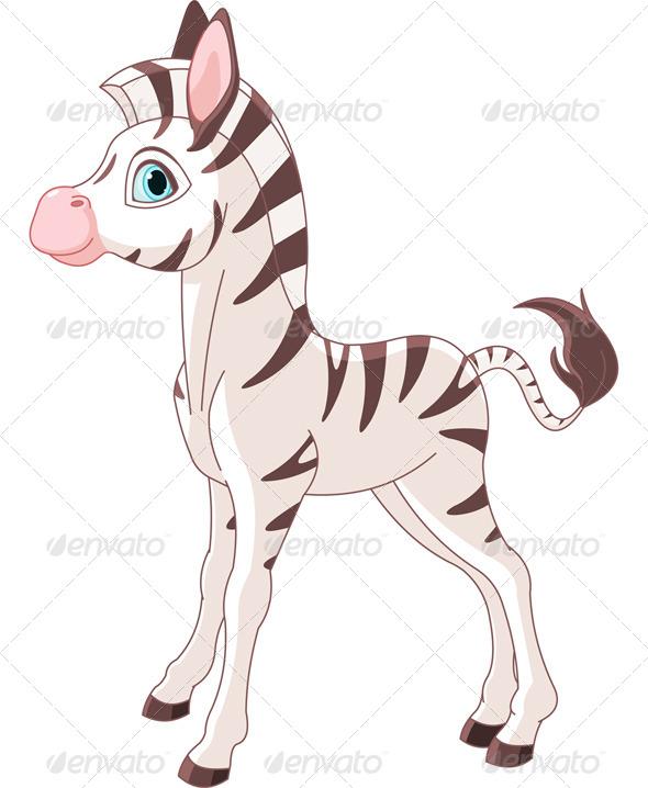 GraphicRiver Zebra Foal 4720328