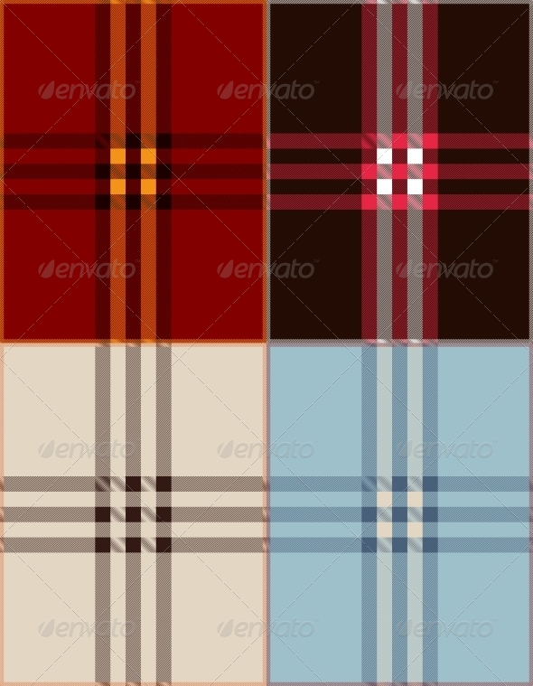 GraphicRiver Plaid Texture Background Vector Illustration 4720353