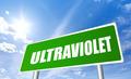 Ultraviolet warning sign