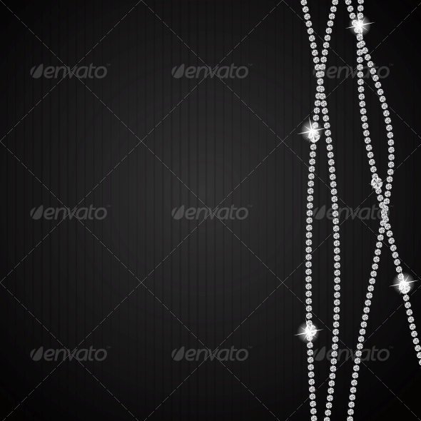 GraphicRiver Abstract Black Diamond Vector 4720373