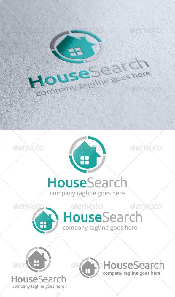 GraphicRiver House Search Logo 4720875