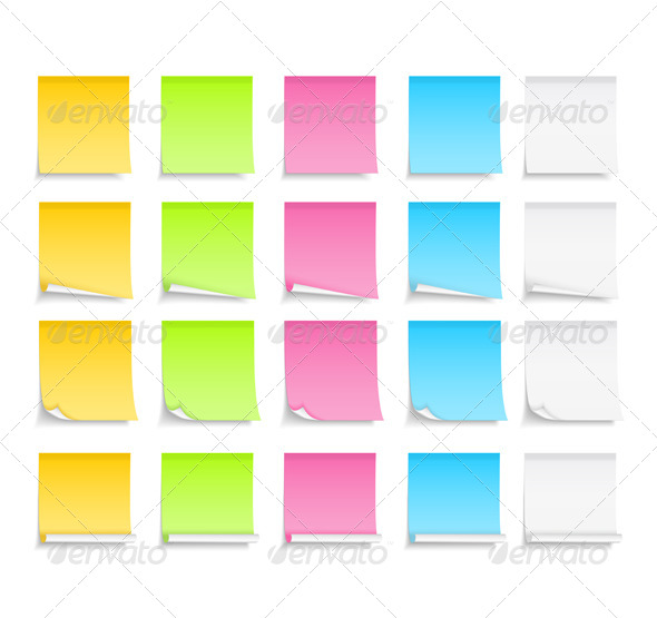 GraphicRiver Sticky Notes 4721310