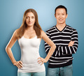 European Woman And Asian Man - PhotoDune Item for Sale