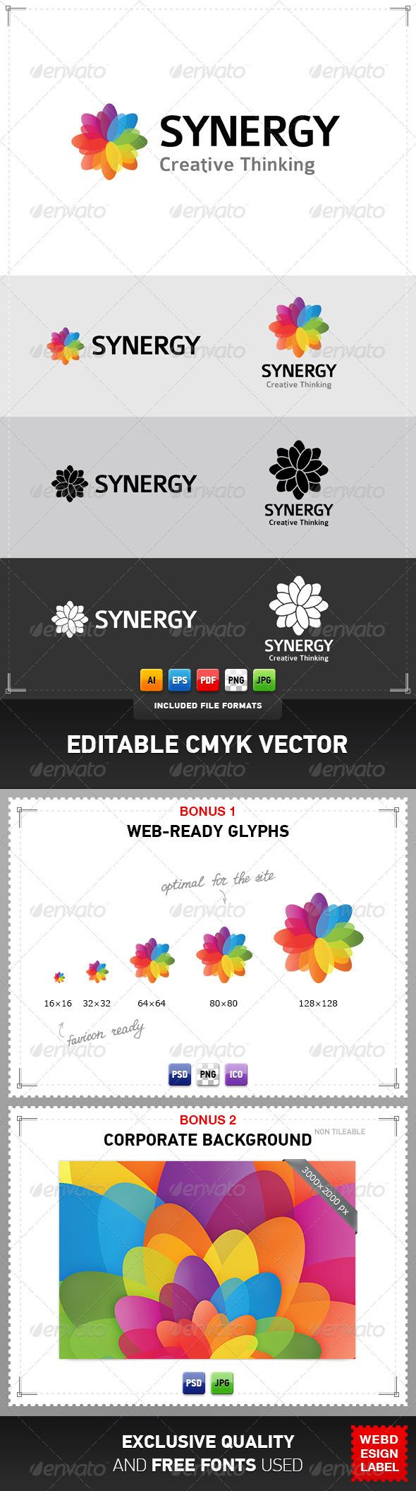 GraphicRiver Synergy Logo 4418682