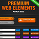 Premium Web Elements Huge pack - GraphicRiver Item for Sale