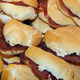 tasty and flavorful sandwiches of bresaola and Serrano ham on sa - PhotoDune Item for Sale