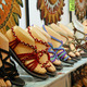 summer sandals with the toes of dummies for sale in artisanal It - PhotoDune Item for Sale