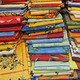 collection of colorful tablecloths and towels washable fabric so - PhotoDune Item for Sale