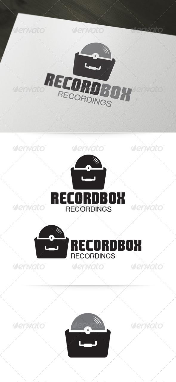 GraphicRiver Record Box Logo 4722042