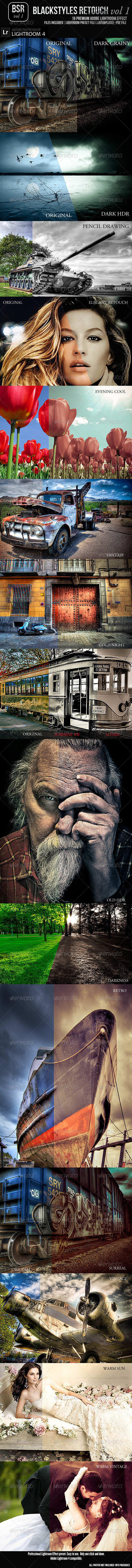 GraphicRiver BlackStyles Retouch-Lightroom Effect Vol 1 4722085