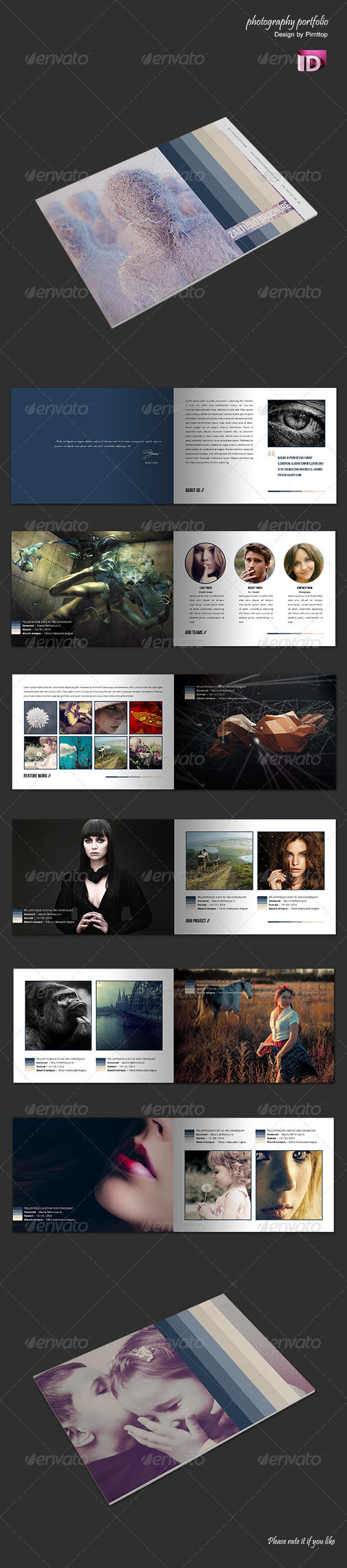 GraphicRiver Photography Portfolio A5 Brochure 4722235