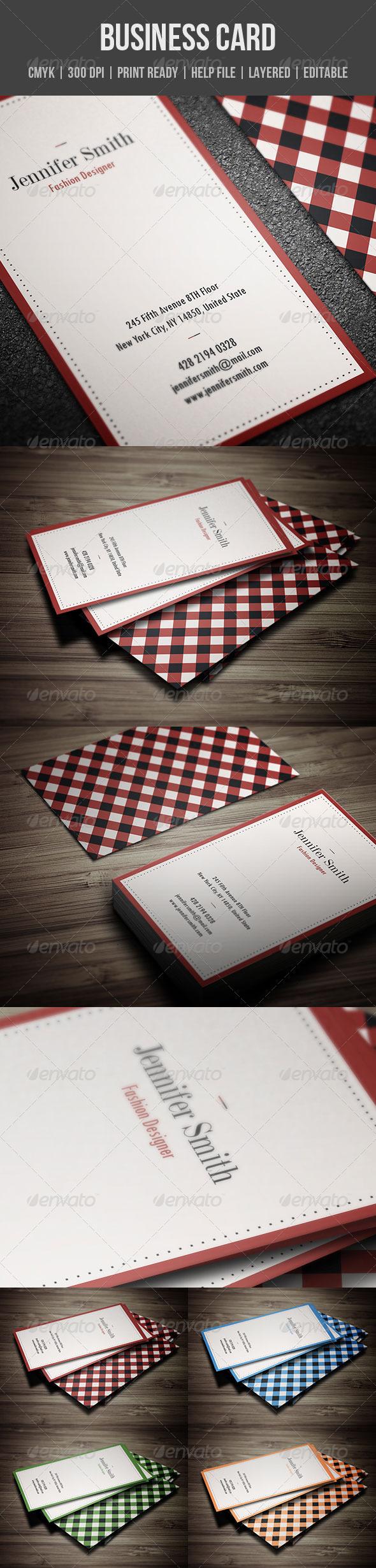 GraphicRiver Minimal Retro Business Card 4722400