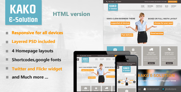 Kako Multi-Purpose HTML Template