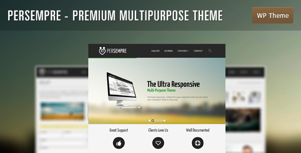 ThemeForest PerSempre Premium Multi-Purpose Theme 4703850