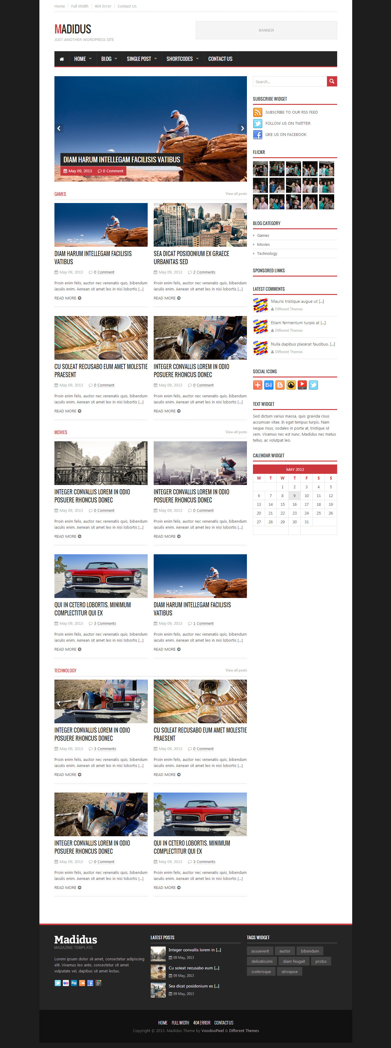 Madidus - Blog & Magazine Theme