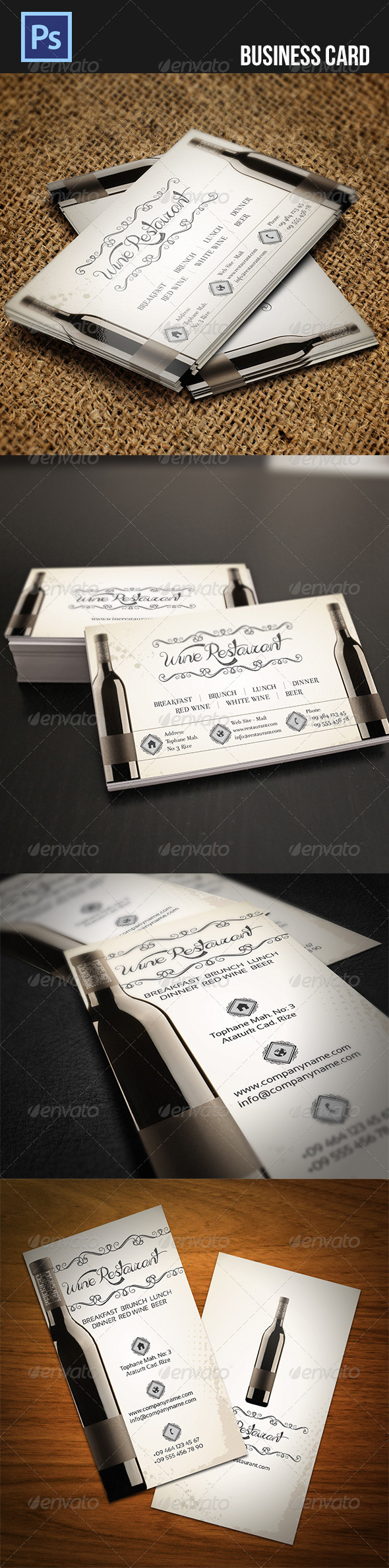 GraphicRiver Business Card 4541816