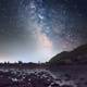Milky Way Over Mountain River - VideoHive Item for Sale