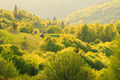 Spring landscape in the Carpathian mountains - PhotoDune Item for Sale