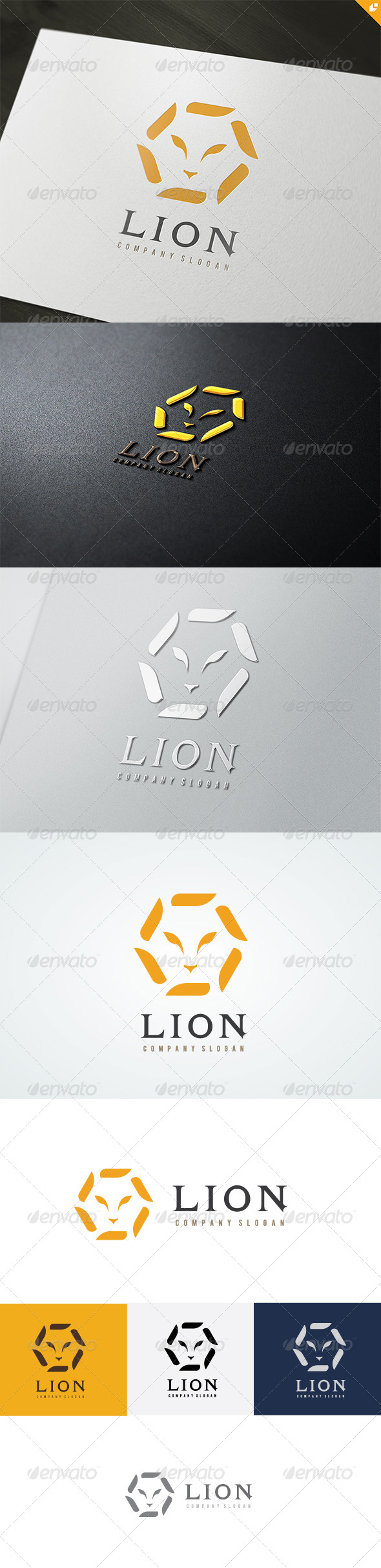 GraphicRiver Lion Company Logo 4723423