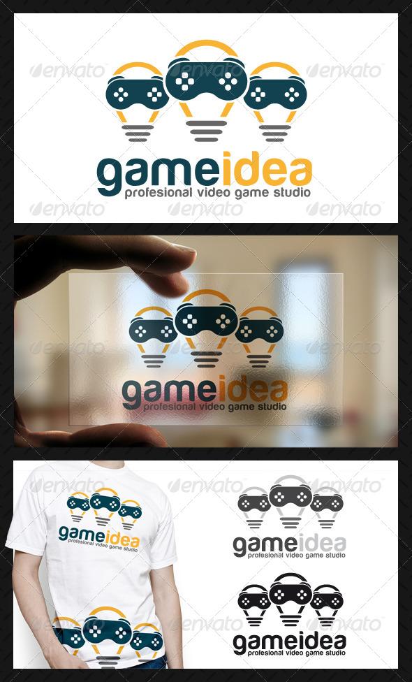Game Idea Logo Template
