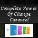Complete Power Of Change Carousel - CodeCanyon Item for Sale