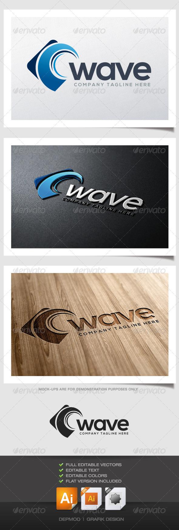 GraphicRiver Wave Logo 4725741