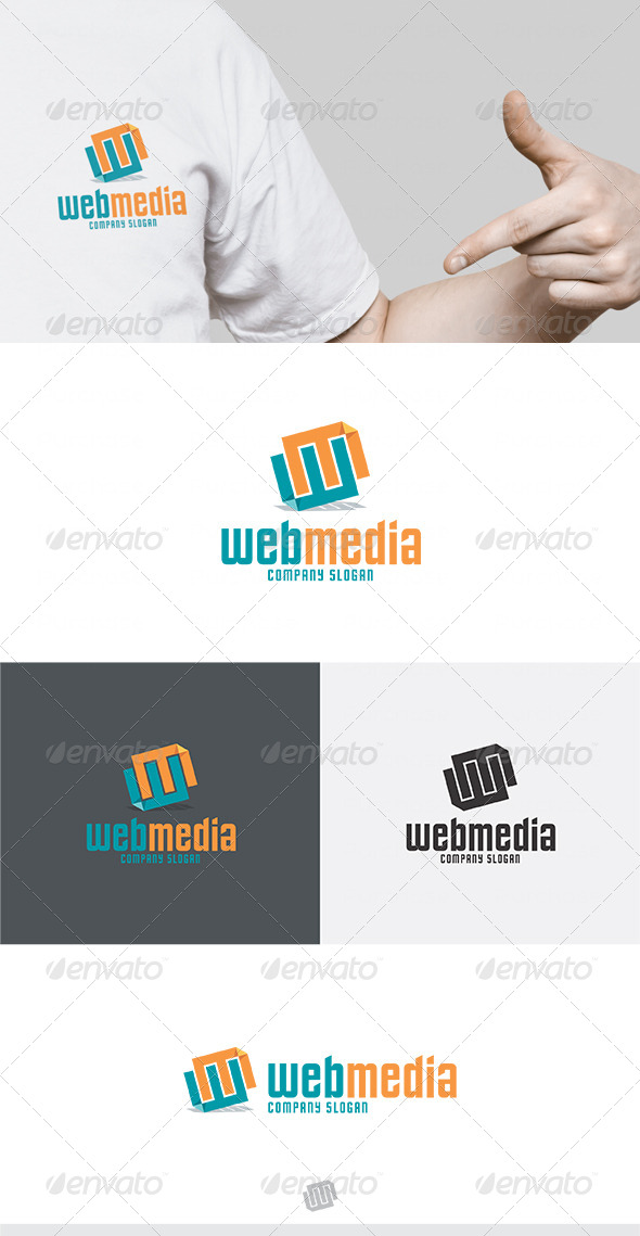 GraphicRiver Web Media Logo 2 4725794