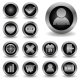 Set of Metallic Icons Vol 2 - GraphicRiver Item for Sale