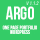 Argo - Modern OnePage Metro UI Wordpress Theme - ThemeForest Item for Sale