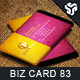 Business Card Design 83 - GraphicRiver Item for Sale