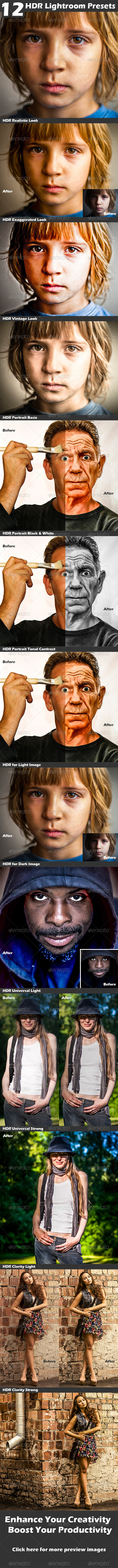 GraphicRiver HDR Presets 4726540