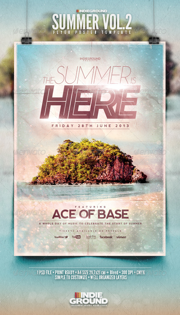 GraphicRiver Summer Flyer Poster Vol 2 4726580