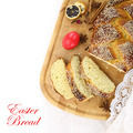 Easter sweet bread with red egg - PhotoDune Item for Sale