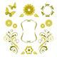 Floral Design Elements - GraphicRiver Item for Sale