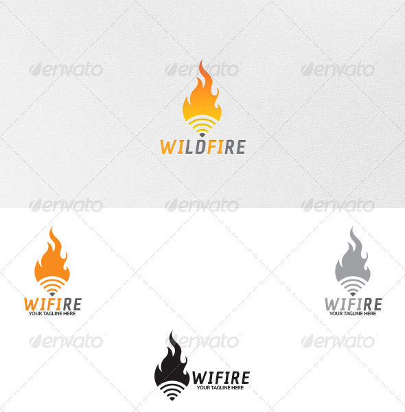 GraphicRiver Wifi Logo Template 4726879