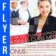 Business Class Media Flyer Template - GraphicRiver Item for Sale