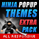 Themes Pack for Ninja Popups
