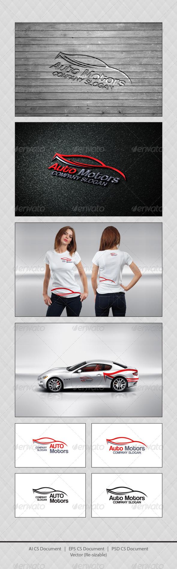 GraphicRiver Auto Motors Logo Templates 4727002