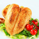 Roasted chicken breasts with potatoes and salad - PhotoDune Item for Sale