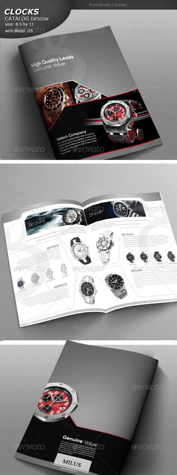 GraphicRiver Clock Catalog 4637163