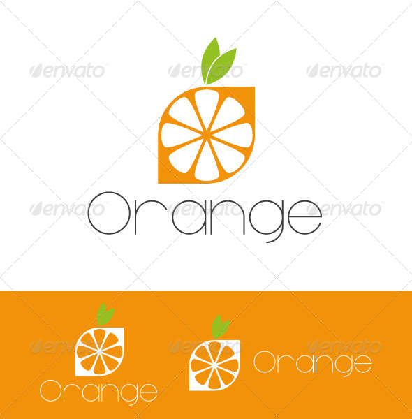 GraphicRiver Logo Orange 4699764