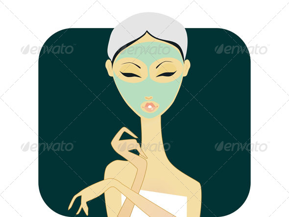 GraphicRiver CoverGirls Facial 4728591
