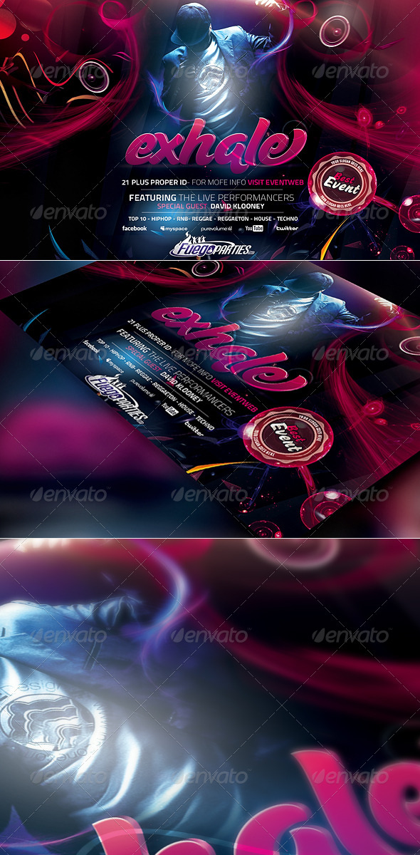 GraphicRiver Exhale Flyer Template 4728601