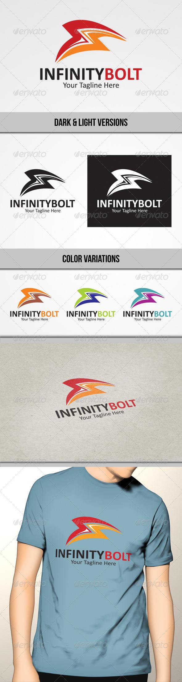 GraphicRiver Infinity Bolt Logo 4692910