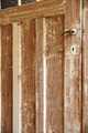 A close-up stripping paint on wooden door - PhotoDune Item for Sale